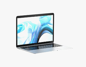 Macbook Air 2018 13 inches Space Gray 3D model