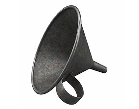 3D asset Metal Funnel