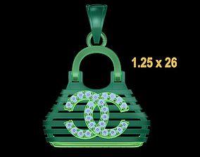 3D print model PENDANT BAG 2