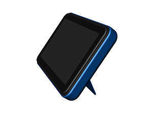 3D model Pad display design blue