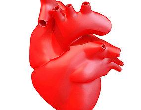 Printable Human Heart 3D model