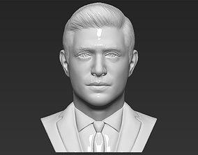 Dean Winchester bust 3D printing ready stl obj formats