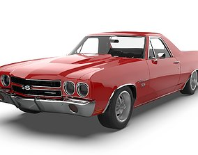 Chevrolet El Camino SS 1970 3D model