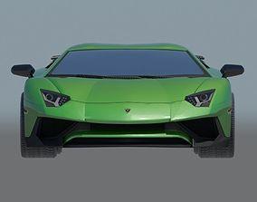 Lamborghini Aventador Superveloce 3D