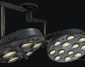 Large Operating Lamp 3D asset