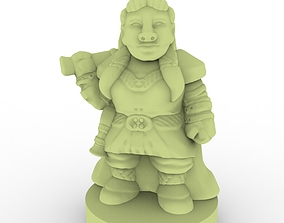 3D printable model Gnome amored