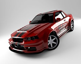 Car R34 3D model