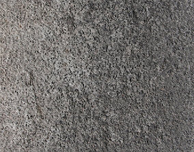 3D PBR Concrete 18 - 8K Seamless Texture with 5 Variations