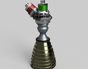 3D R-4D Rocket engine