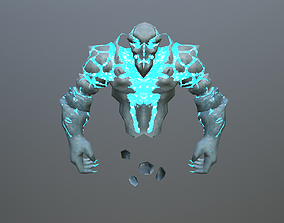 Ice Spirit Elemental 3D model