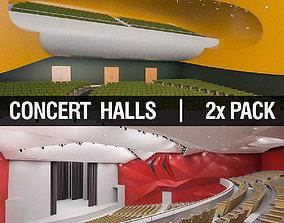 Concert Halls Collection 3D model