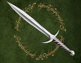 Sting swords 3D model