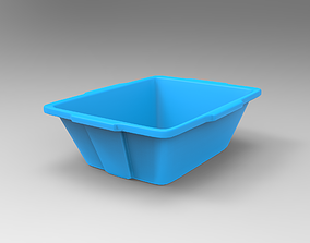 3D asset Plastic Bowl