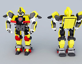 combat robot 3D model