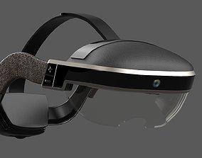 3D model PBR AR Headset