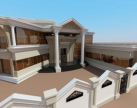 residental 3D model Villa