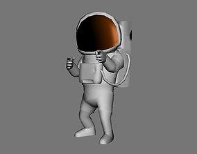 3D asset rigged Astronaut