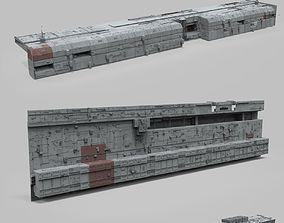 3D Sci-Fi architecture Elements collection 8