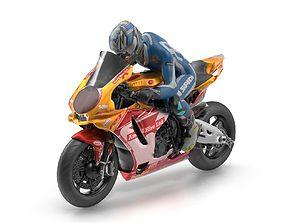 Yamaha YZF-R1 3D asset