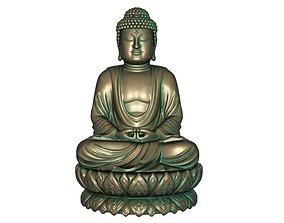 3D printable model 3D asset Buddha
