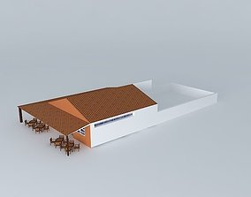 3D Restaurant exterior rejaneorkut