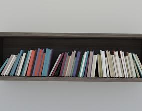 3D model Book shelve