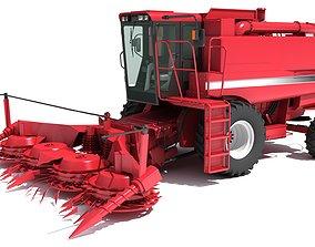 Combine Harvester cereal 3D model