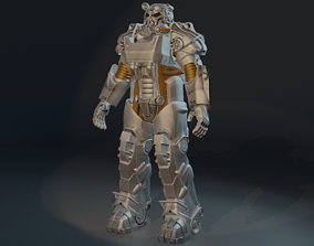 Power Armor T-60b Armor from Fallout 4 3D printable model