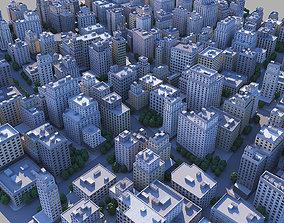 City district 3D model