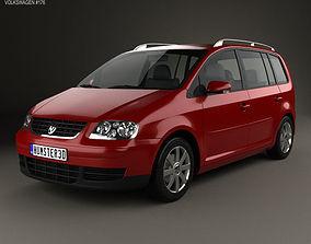 3D Volkswagen Touran 2003