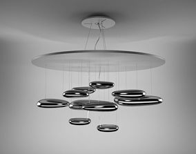 3D Artemide Mercury suspension