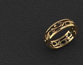 Ring 3D print model characters