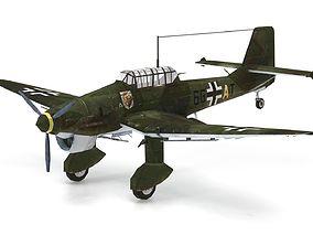 Junkers Ju 87 Stuka 3D model