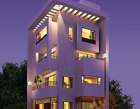 3d building 186