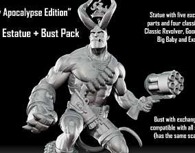 Hellboy Apocalypse Edition - Statue 3D printable model 2