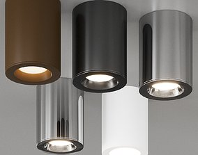 Kos Polished Chrome by Astro Lighting Modular Ceiling 3D