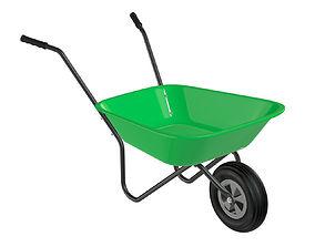 3D model Wheelbarrow 02