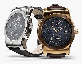 3D asset LG Watch Urbane W150
