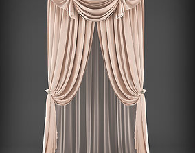 curtain Curtain 3D model realtime