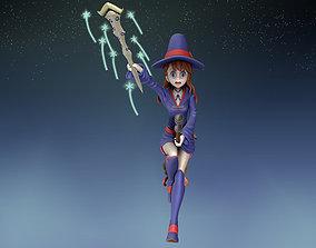atsuko kagari 3d figure