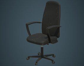 3D asset Office Chair 1B