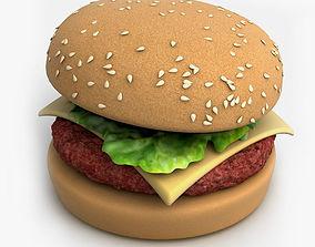 3D Hamburger