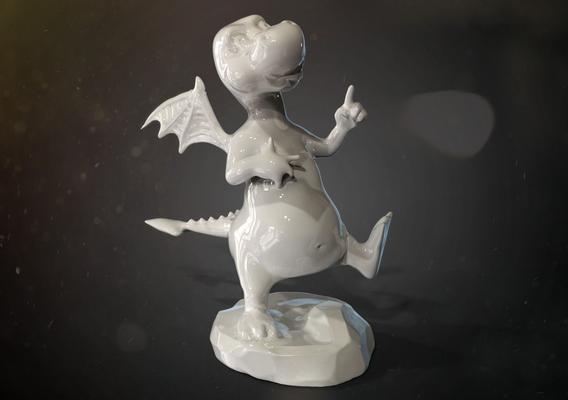 Dragon miniature for 3dprint