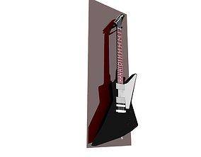 3D Guitar Gibson Explorer