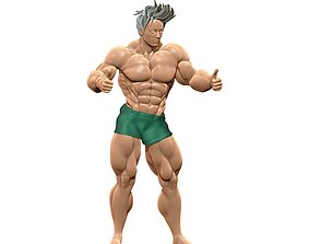 Body Builder Statue N 11 3D print 3D model