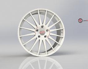 3D Printable OZ WRC Wheel