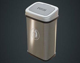 3D asset Dustbin 6A