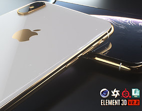 iPhone XS Max 3D model VR / AR ready