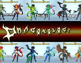 Acheron Series Dragonology Collection 3D