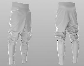 3D Puffer Pants - Trousers